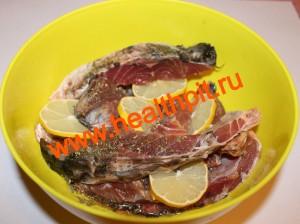 Рыба в мультиварке фото рецепт