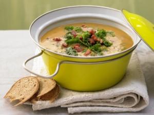 Суп из чоризо
