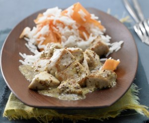 Морковь и рис басмати