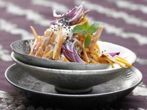 Салат из моркови низкокалорийный