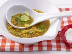чечевичный карри суп