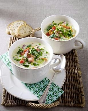 греческий холодный суп