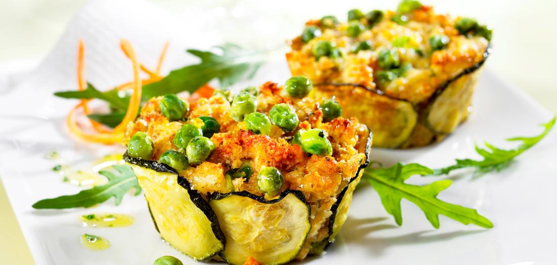 Рецепт овощных маффинов с гречкой