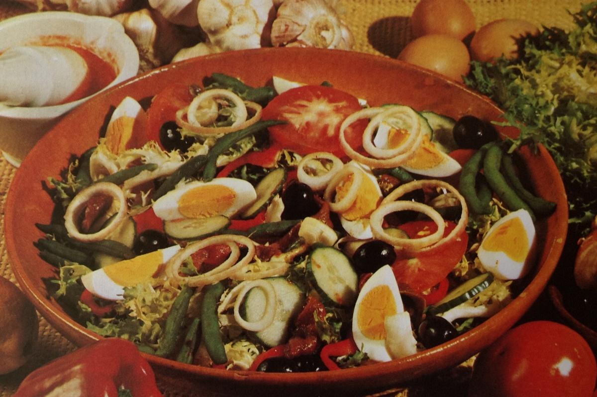Прованский салат из овощей
