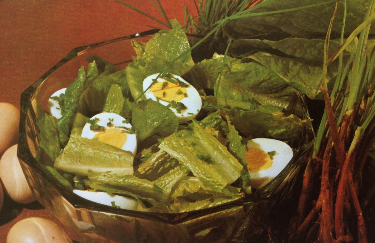 Романский яичный салат