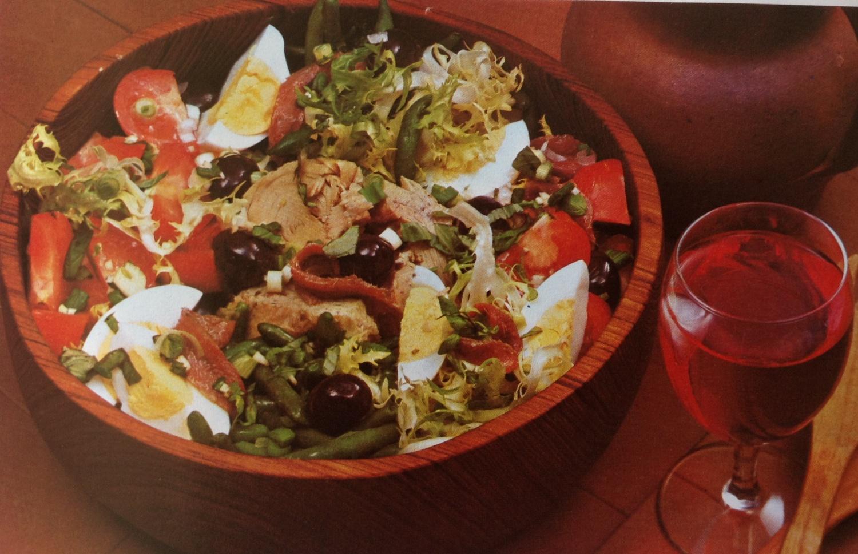 Летний средиземноморский салат