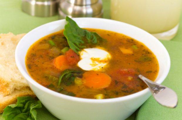 Суп с кабачками «Осенний букет»