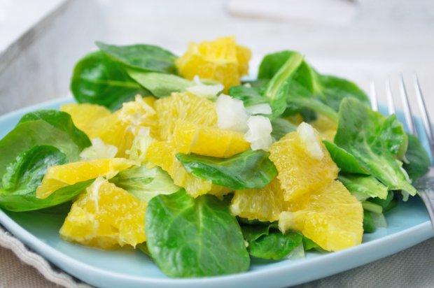 Салат цитрусовое насаждение